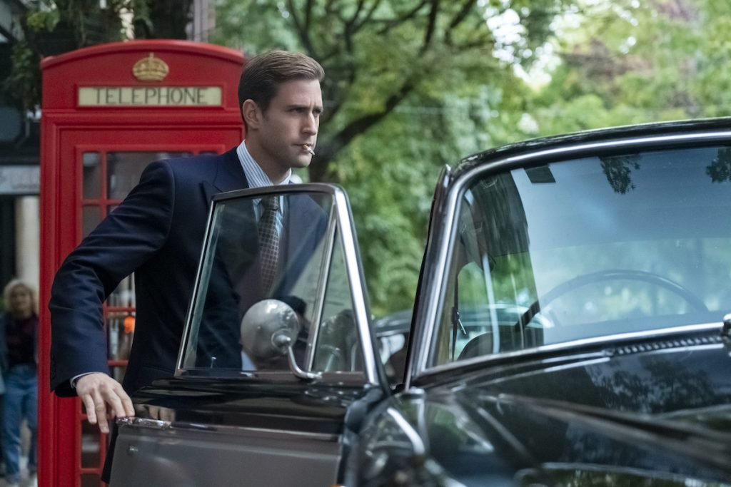 OLIVER JACKSON-COHEN as PETER QUINT in THE HAUNTING OF BLY MANOR