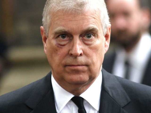 Why a Royal Staffer Hit Prince Andrew in the Face and Gave Him a Black Eye