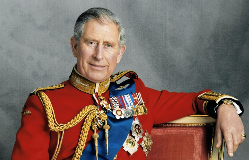 Official portrait to mark the 60th Birthday of The Prince of Wales, taken by photographer Hugo Burnand. PRESS ASSOCIATION Photo. Issue date date: Thursday November 13, 2008. See PA story ROYAL Birthday