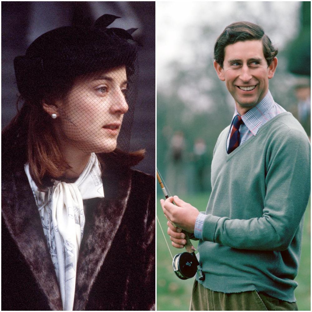 Prince Charles and Amanda Knatchbull