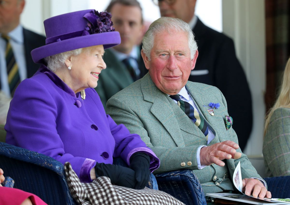 Prince Charles and Queen Elizabeth