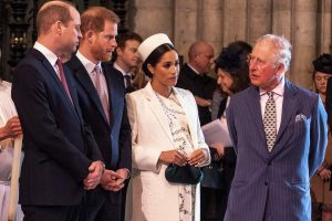 Prince Charles and Prince William Didn't Think Prince Harry and Meghan Markle Were Serious About Megxit, Book Claims