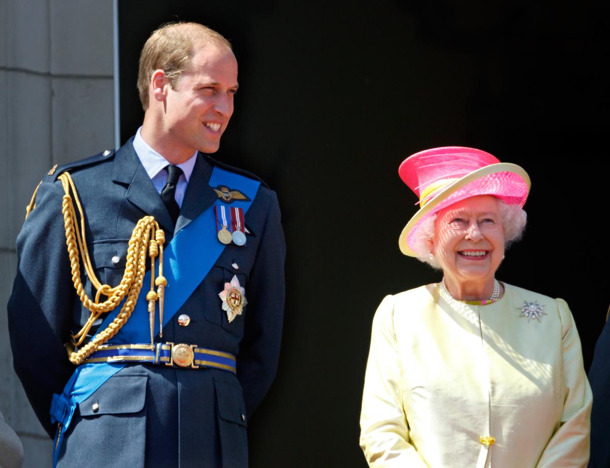 Prince William Queen Elizabeth