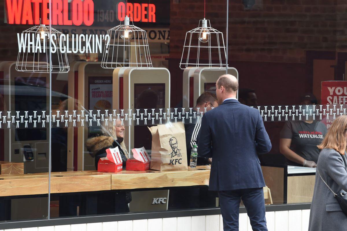 Prince William at KFC