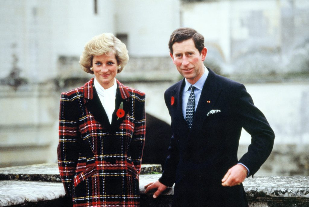 Princess Diana and Prince Charles in France