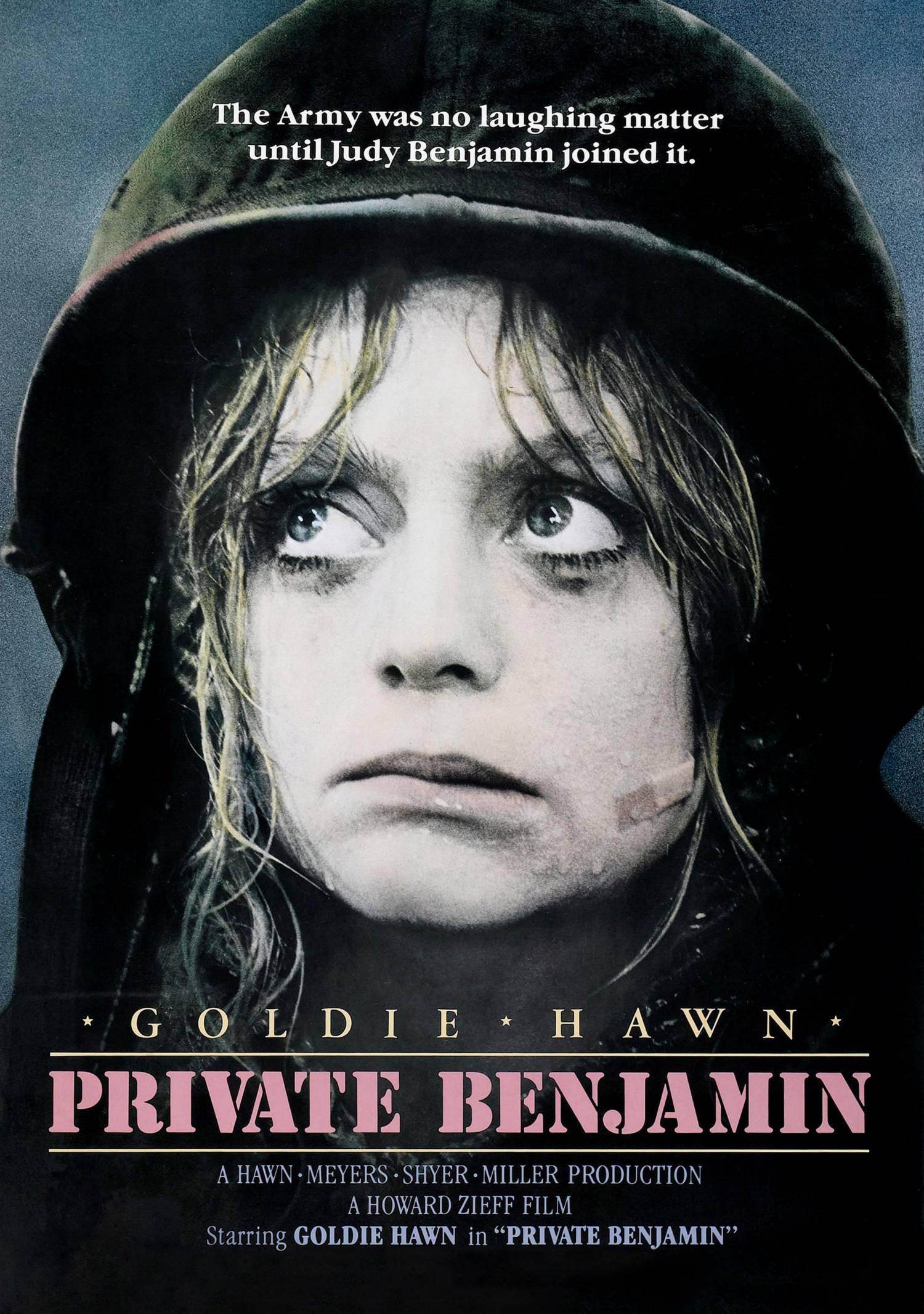 """Private Benjamin"", 1980 American comedy film starring Goldie Hawn."