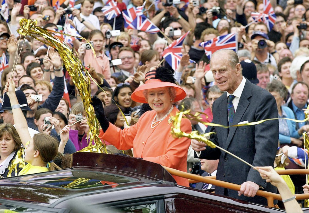 Queen Elizabeth II and Prince Philip, Duke of Edinburgh at the Golden Jubilee in 2002