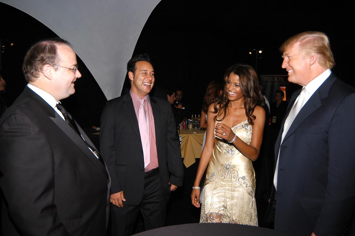Marc Cherry, Claudia Jordan, and Donald Trump attend 55th Annual Mrs. Universe Competition
