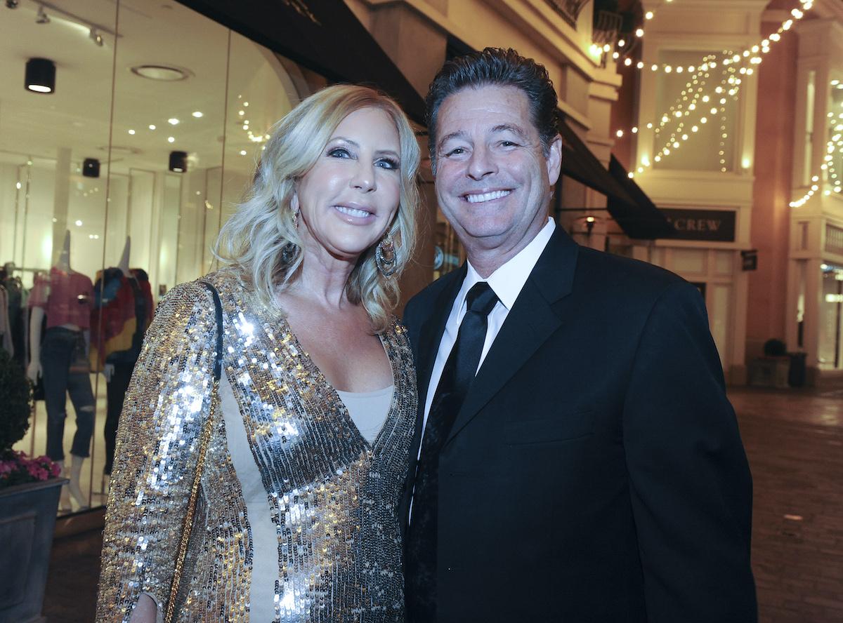 Vicki Gunvalson and Steve Lodge