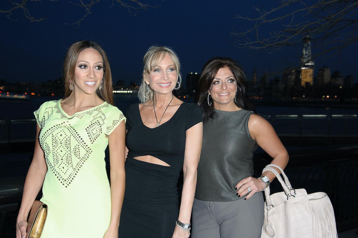 Melissa Gorga, Kim Depaola, and Kathy Wakille