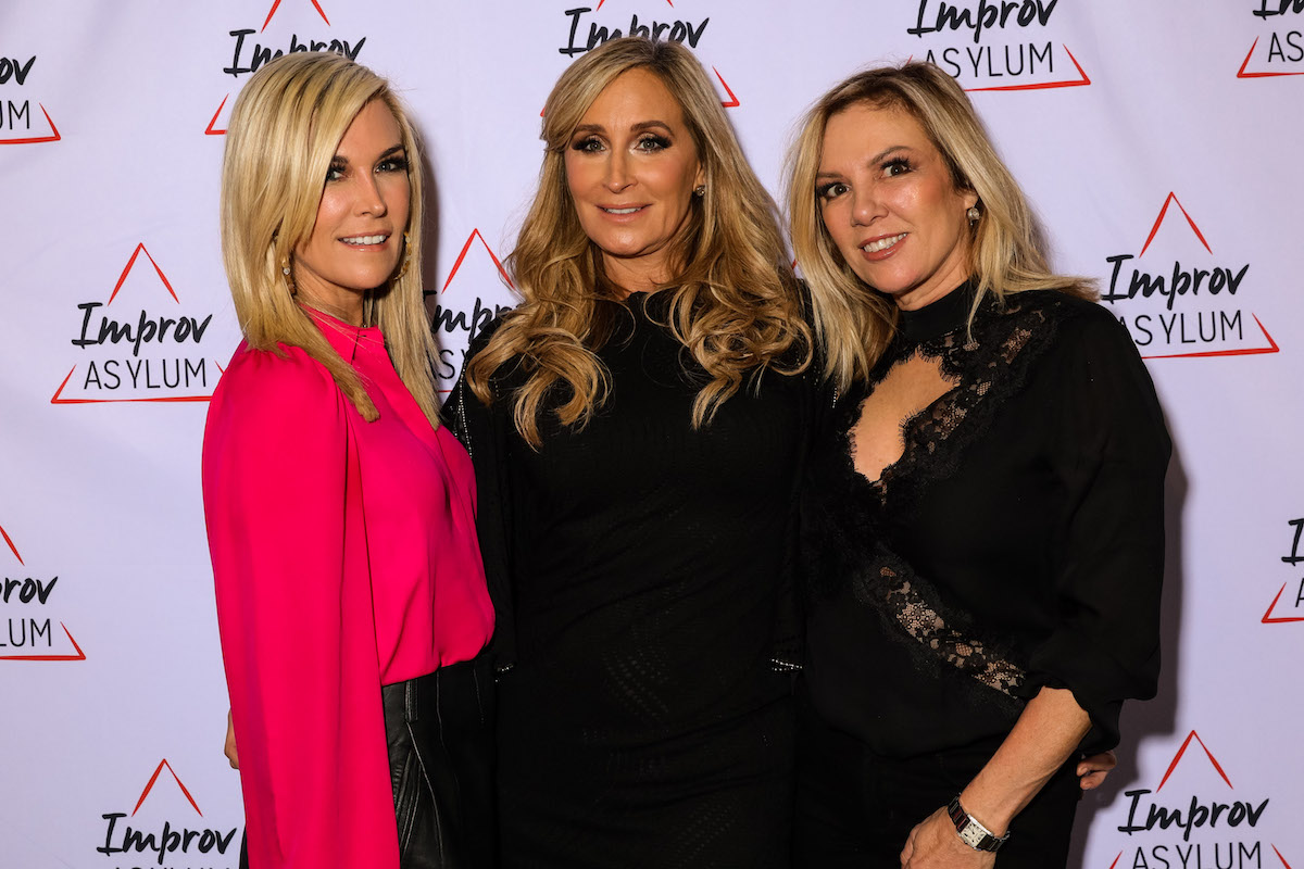 Tinsley Mortimer, Sonja Morgan, and Ramona Singer