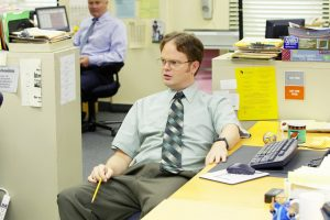 'The Office' Star Rainn Wilson Has Nods To Dwight Schrute in the Most Appropriate Room in His House