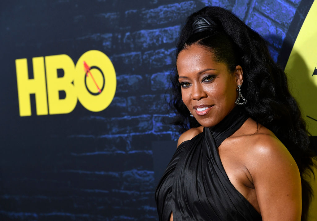 Regina King at the HBO Watchmen premiere
