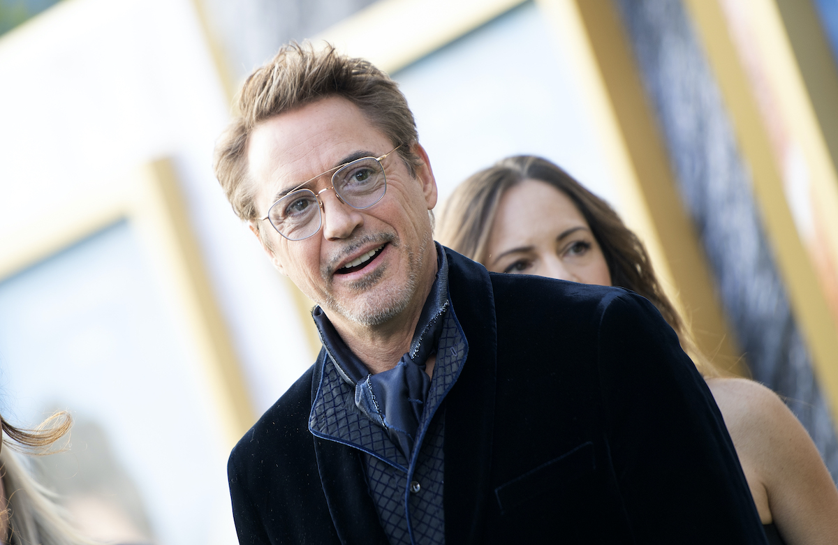 Robert Downey Jr. at the 'Dolittle' premiere