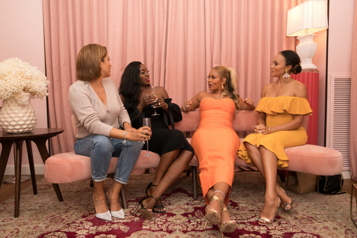 Robyn Dixon, Wendy Osefo, Gizelle Bryant and Ashley Boalch Darby attend Gizelle Bryant's Birthday Celebration