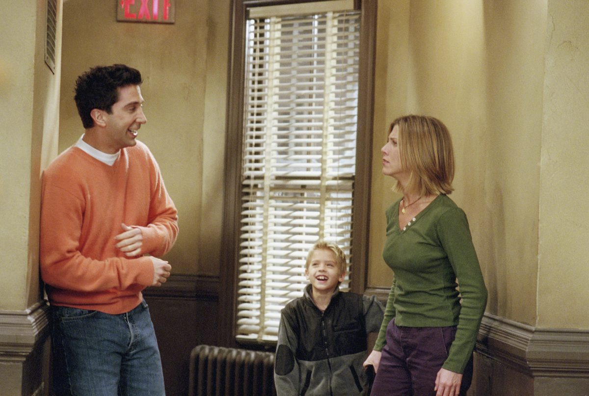 Jennifer Aniston and David Schwimmer