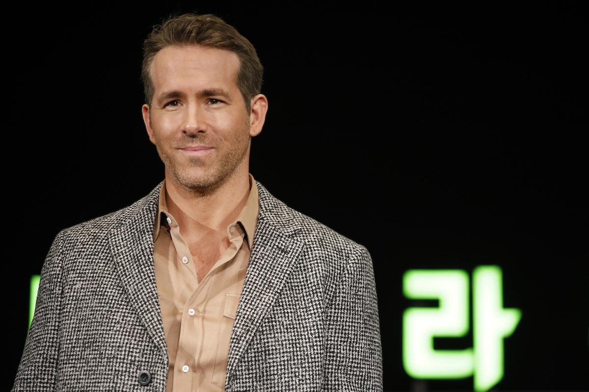 Ryan Reynolds at a '6 Underground' press conference