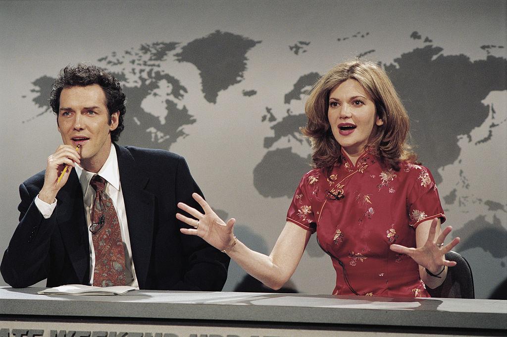 Saturday Night Live cast in 1995