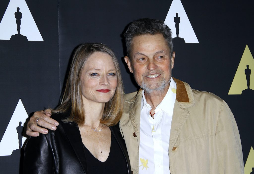 Jodie Foster and Jonathan Demme pose as The Academy Museum Presents 25th Anniversary Event of The Silence of the Lambs