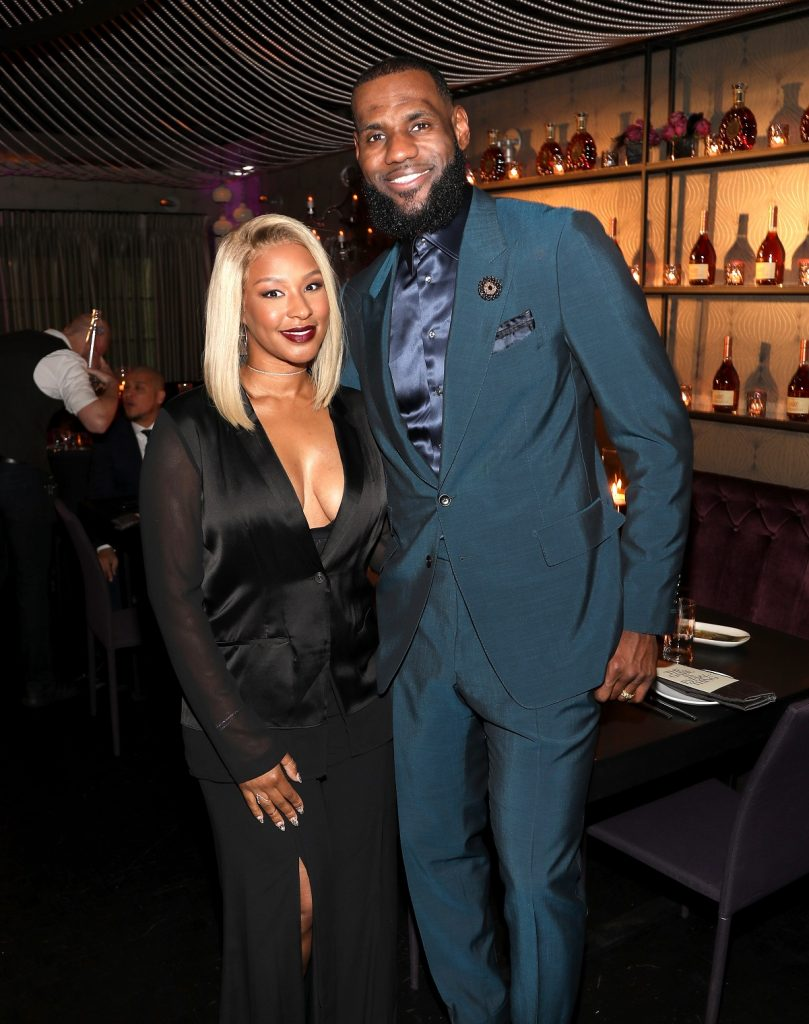 How Tall Is LeBron James' Wife