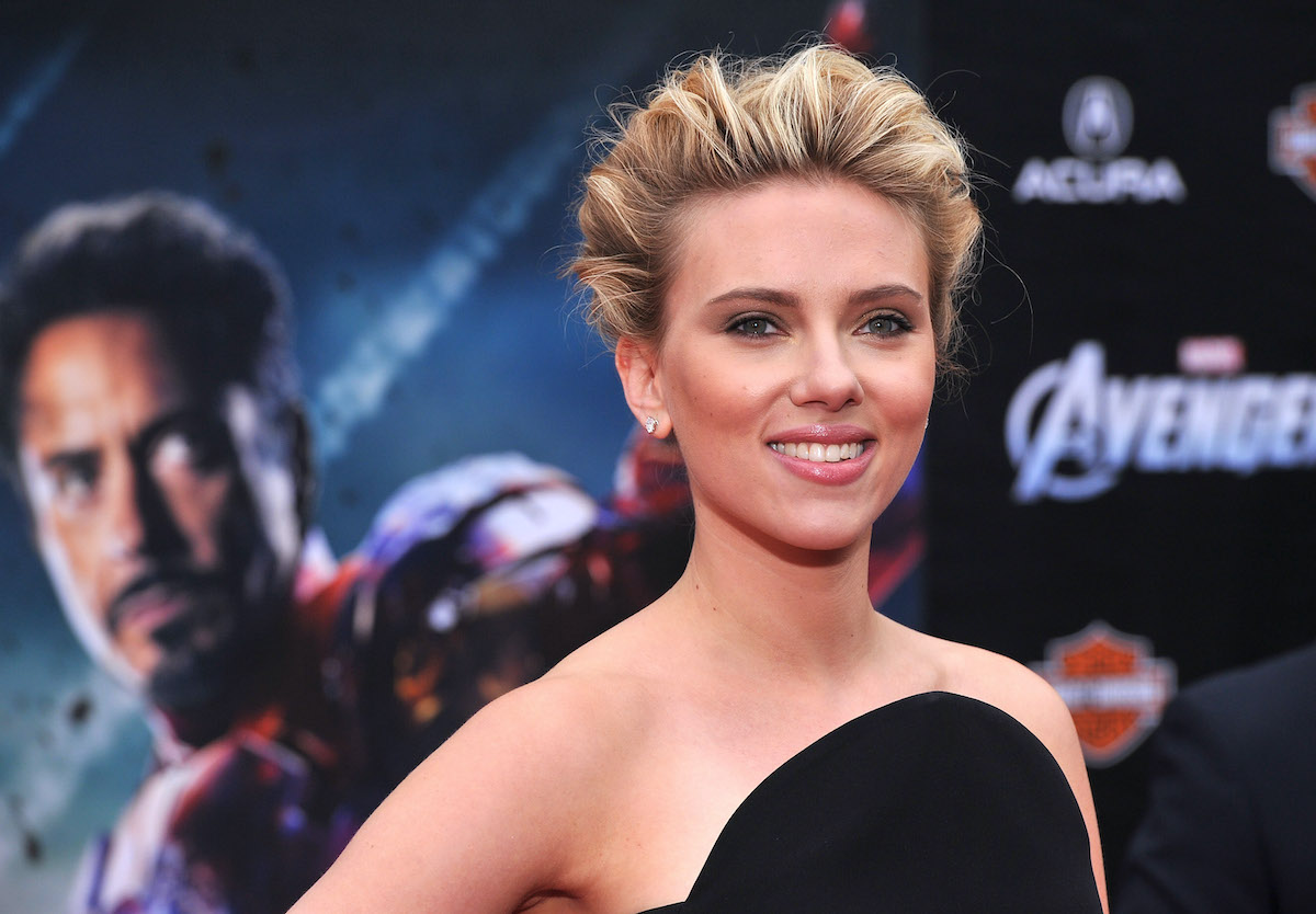 Scarlett Johansson at 'The Avengers' premiere