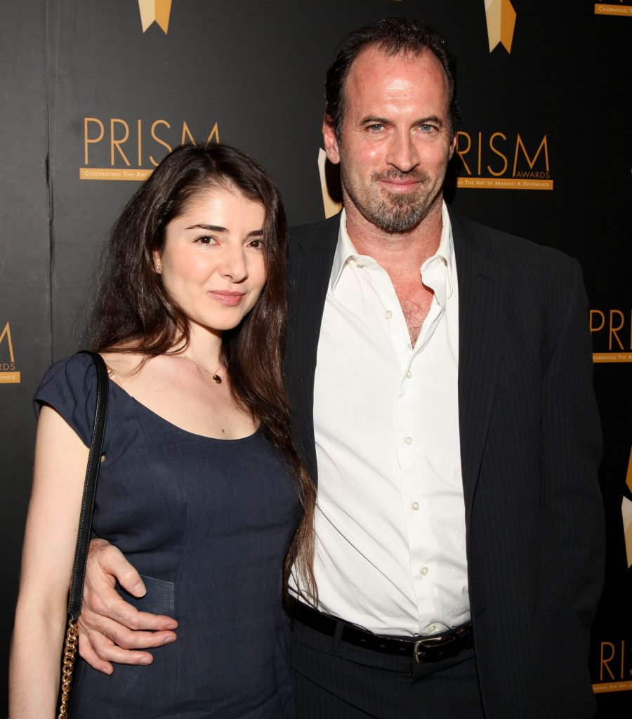 Kristine Saryan and Scott Patterson arrive at the 15th Annual PRISM Awards