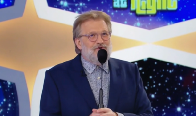 'The Price Is Right' host Drew Carey with his new bearded look