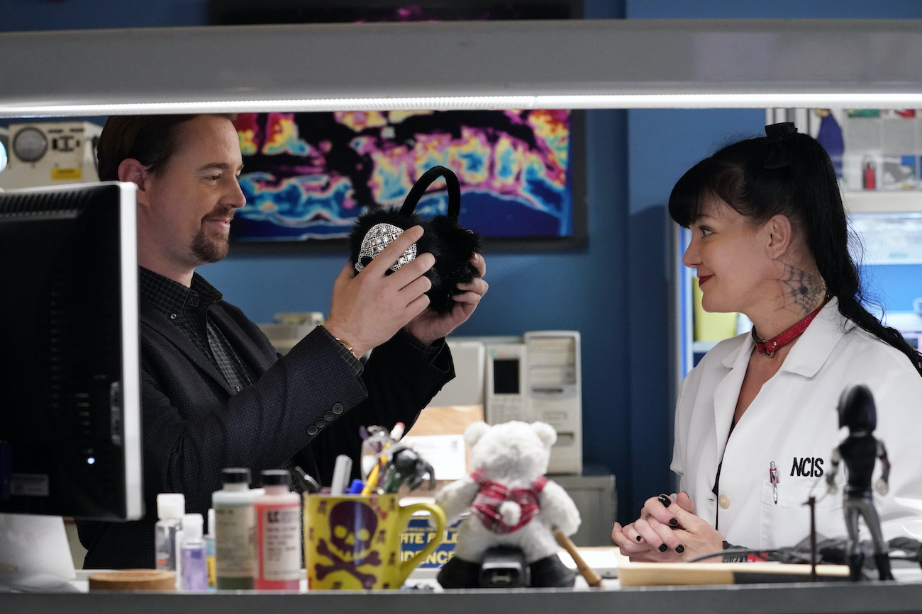 McGee and Abby in NCIS