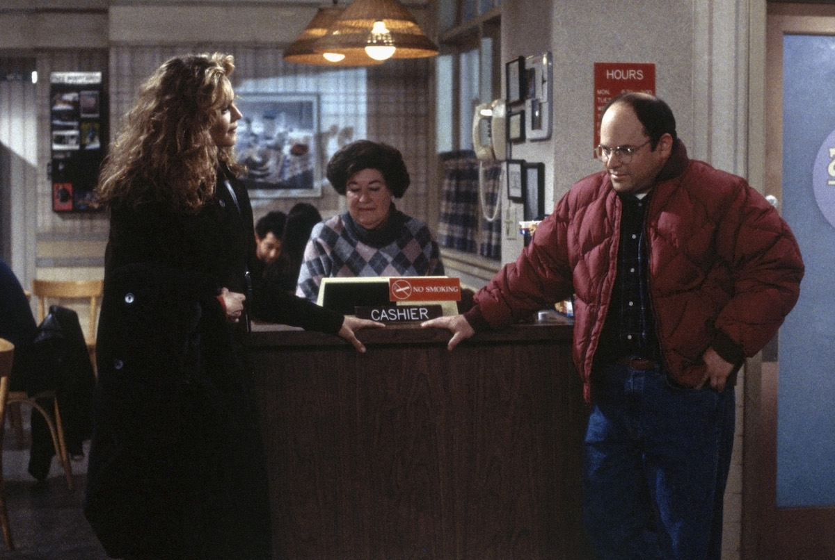 Chelsea Noble and Jason Alexander on 'Seinfeld'