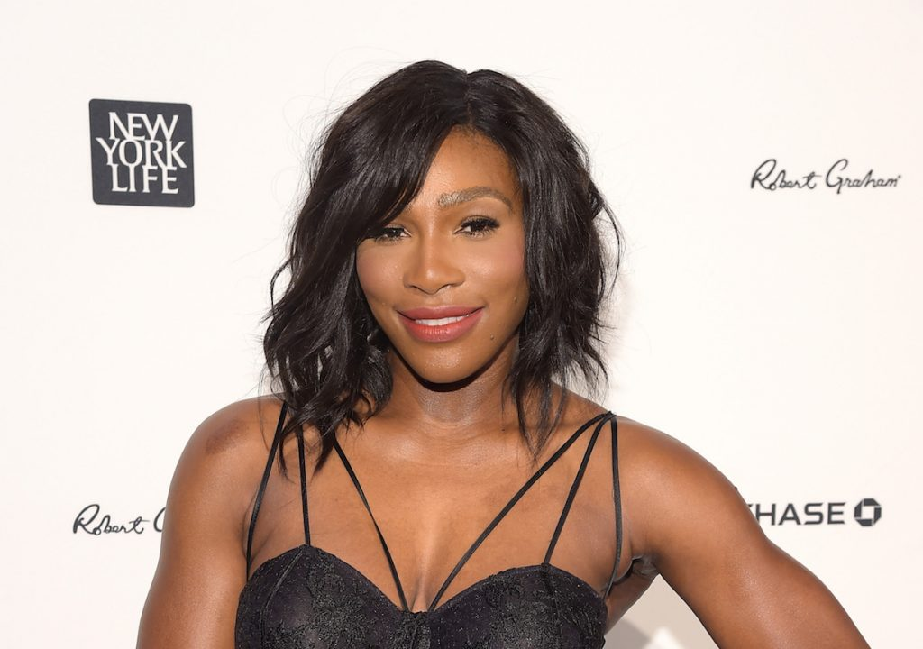 Serena Williams attends Sports Illustrated Sportsperson of the Year Ceremony 2015 at Pier 60