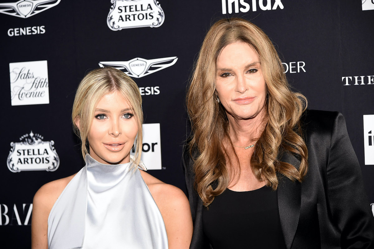 Sophia Hutchens and Caitlyn Jenner