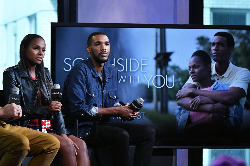 Director Richard Tanne, actor/producer Tika Sumpter and actor Parker Sawyers discuss their film 'Southside with You,' inspired by Barack and Michelle Obama's first date