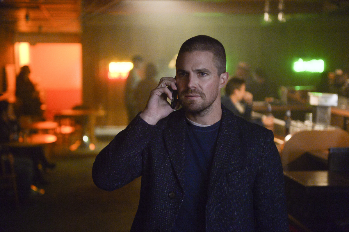 Stephen Amell crossover