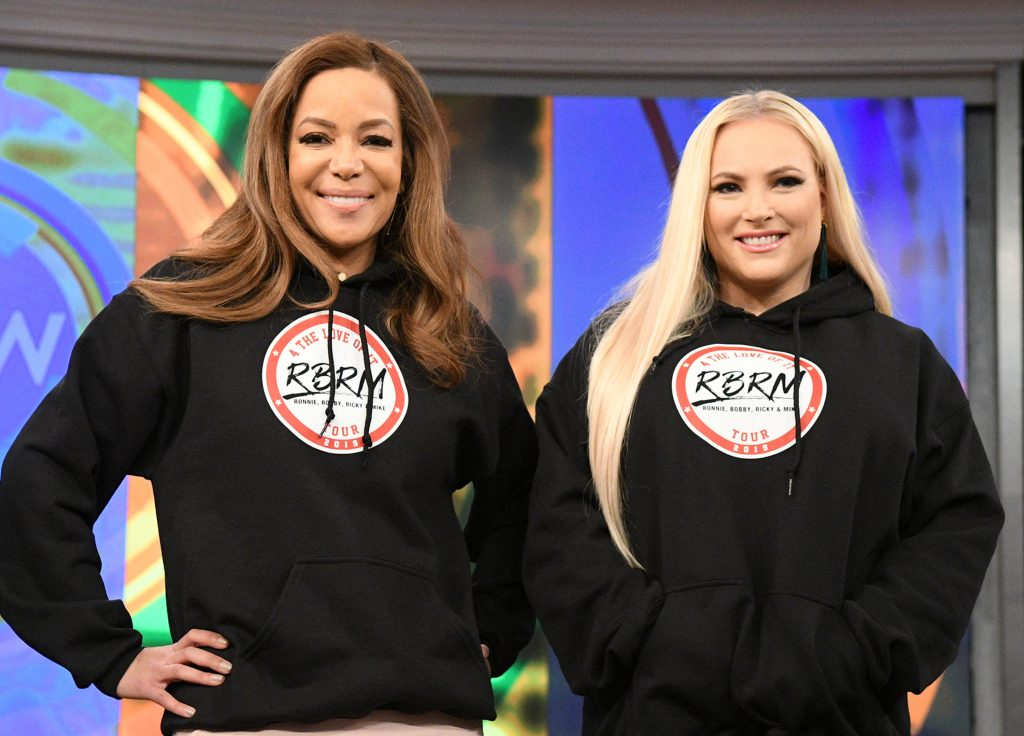 Sunny Hostin and Meghan McCain of 'The View'