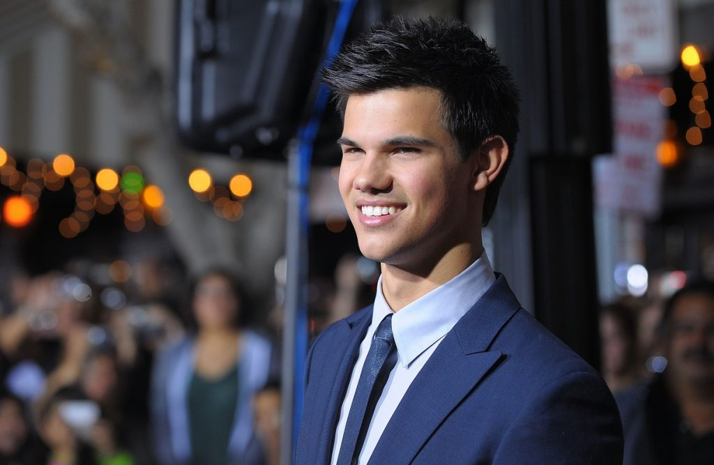 Taylor Lautner, star of the Twilight movies