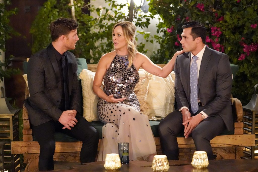 'The Bachelorette' lead Clare Crawley with Tyler C. and Yosef