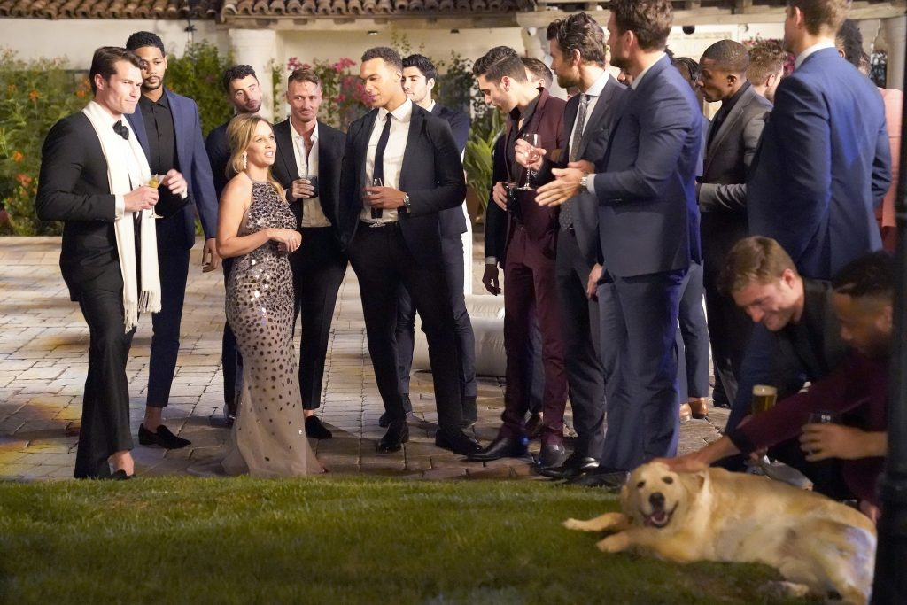 'The Bachelorette' lead Clare Crawley with contestants