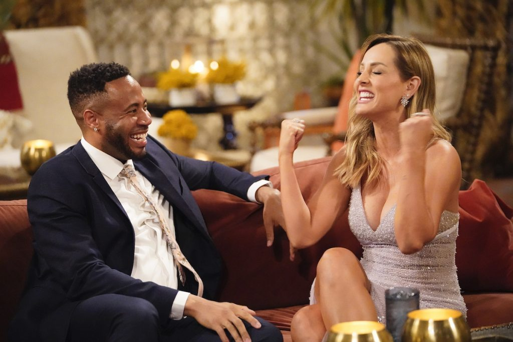 Clare Crawley and Garin Flowers on 'The Bachelorette'