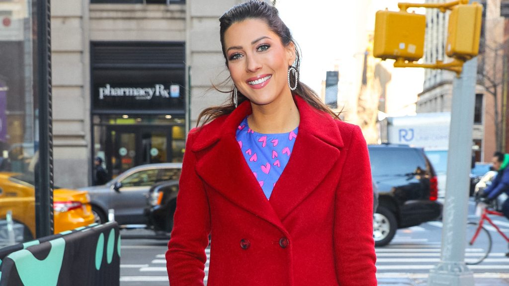 'The Bachelorette' and 'The Bachelor' star Becca Kufrin is seen on January 29, 2020 in New York City.