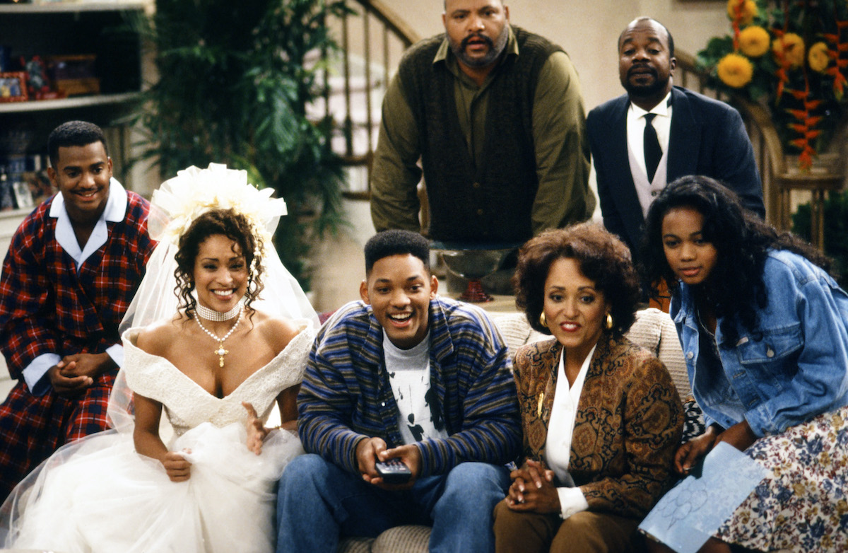 The cast of 'The Fresh Prince of Bel-Air'