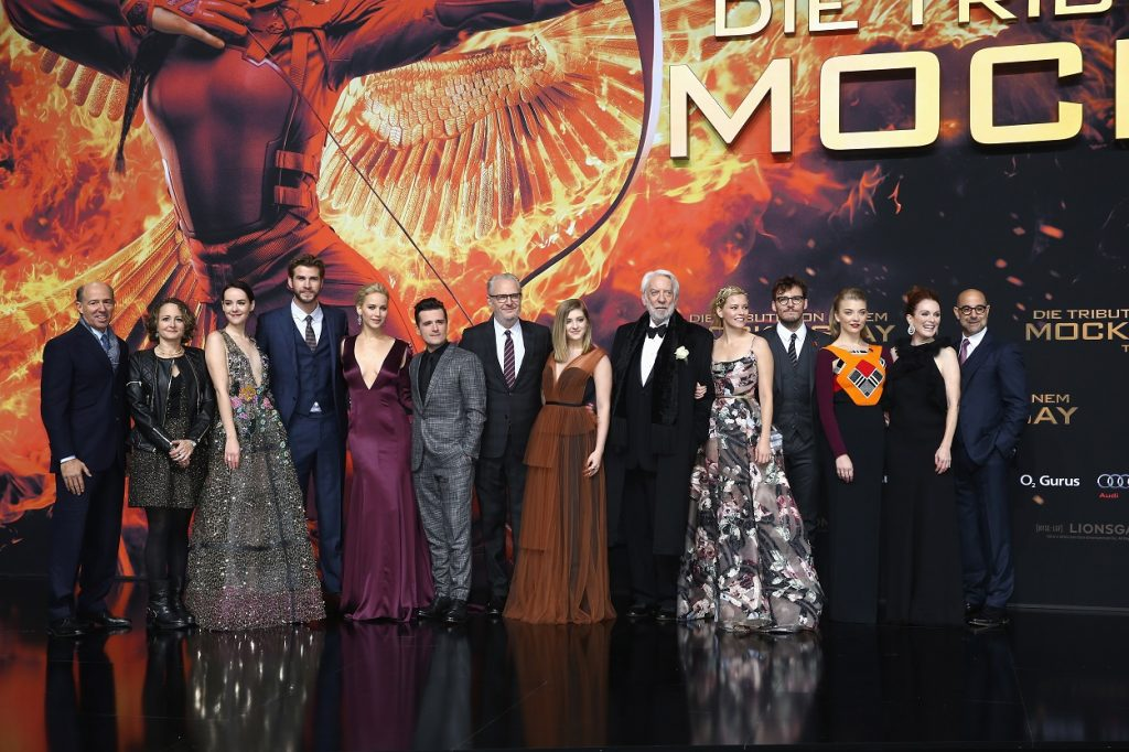 The Hunger Games movies cast and crew