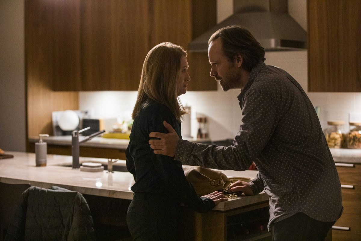 The Lie: Mireille Enos and Peter Sarsgaard