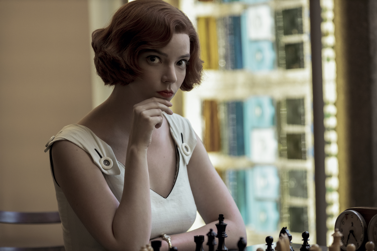 The Queen's Gambit (L To R) Anya Taylor-Joy as Beth Harmon In Episode 104 Of The Queen's Gambit