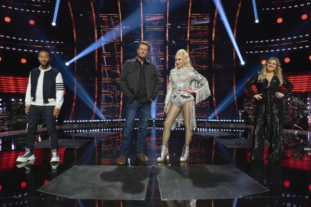 John Legend, Blake Shelton, Gwen Stefani, Kelly Clarkson on 'The Voice'