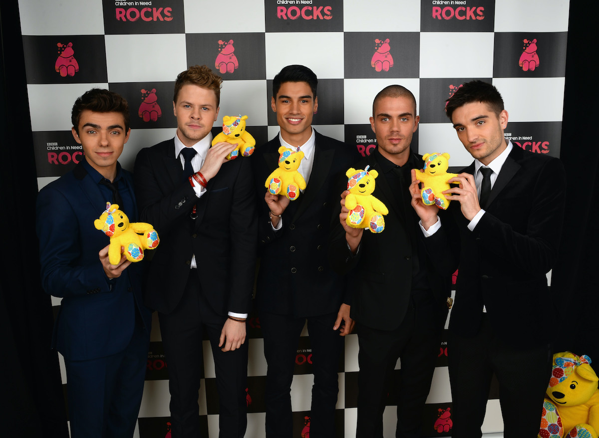 Nathan Sykes, Jay McGuiness, Siva Kaneswaran, Max George, and Tom Parker of The Wanted