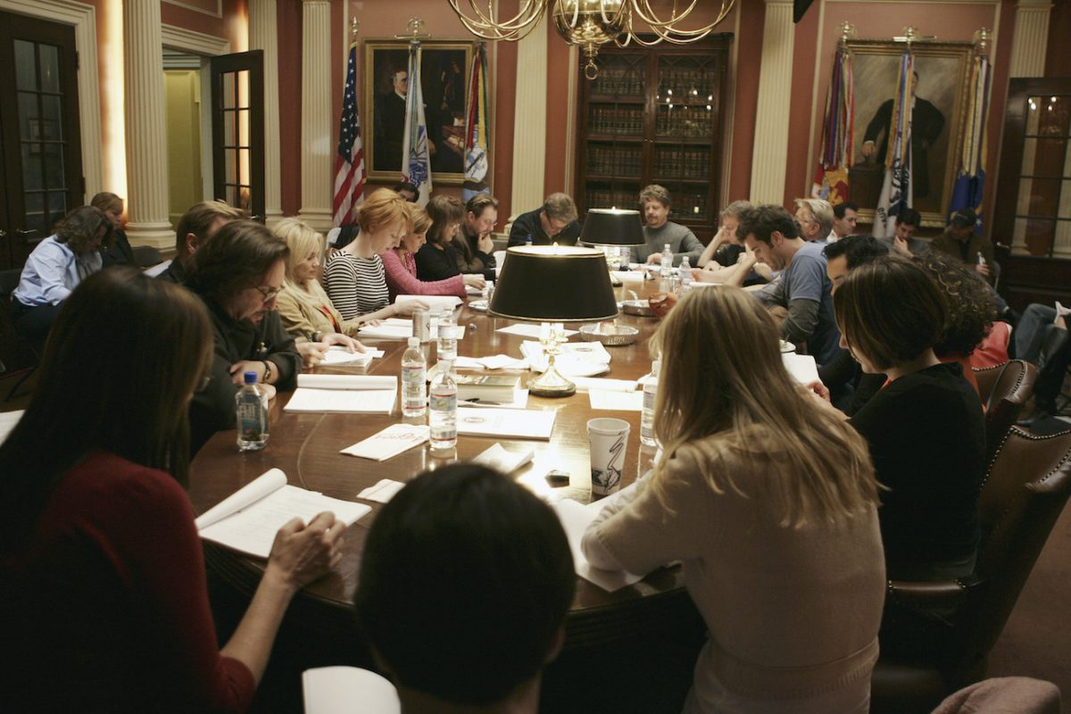 'The West Wing' cast does a table read