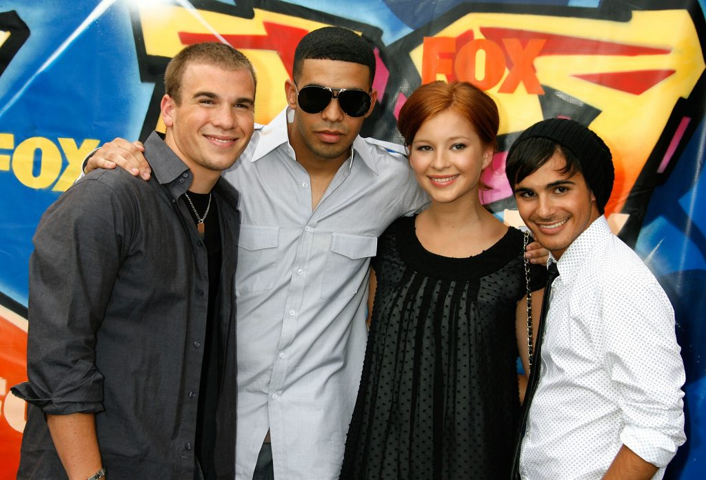 The cast of 'Degrassi'