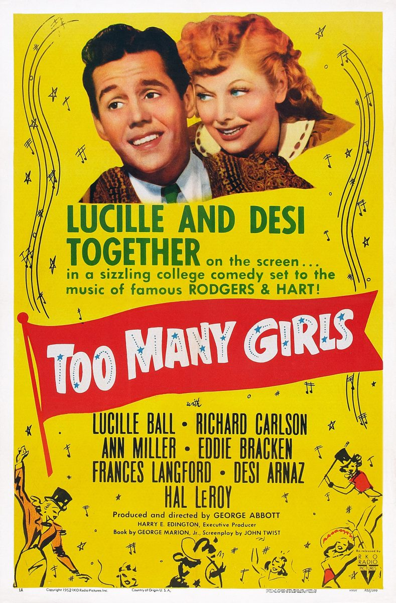 Too Many Girls poster