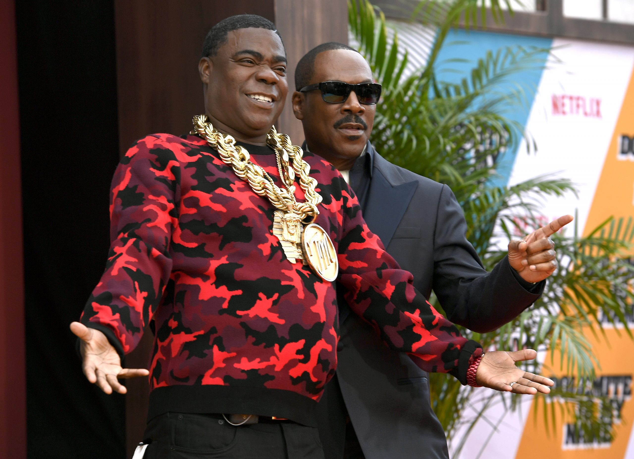 'Saturday Night Live' Alums and 'Coming 2 America' Co-Stars Tracy Morgan and Eddie Murphy