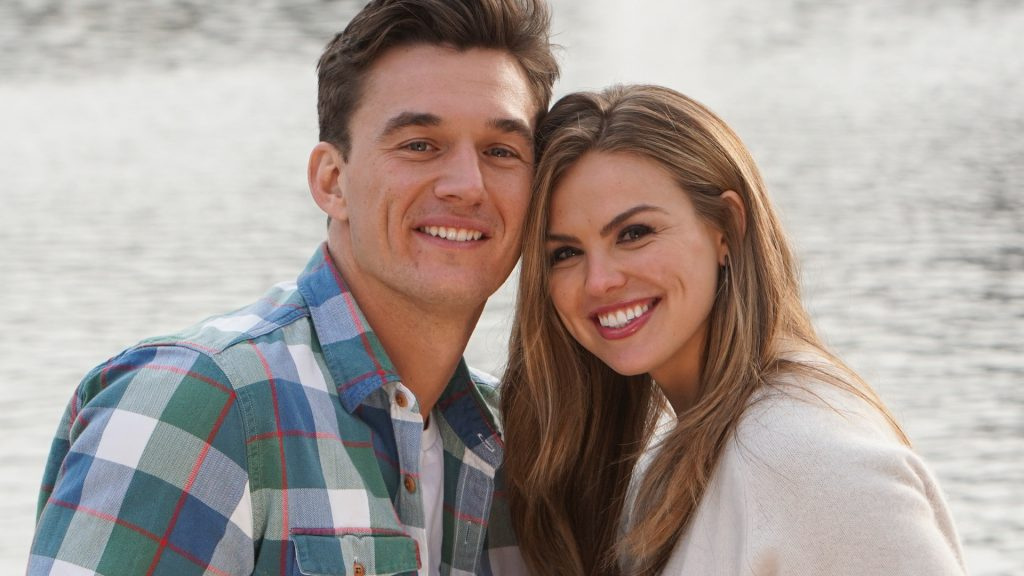 Tyler Cameron and Hannah Brown on 'The Bachelorette'